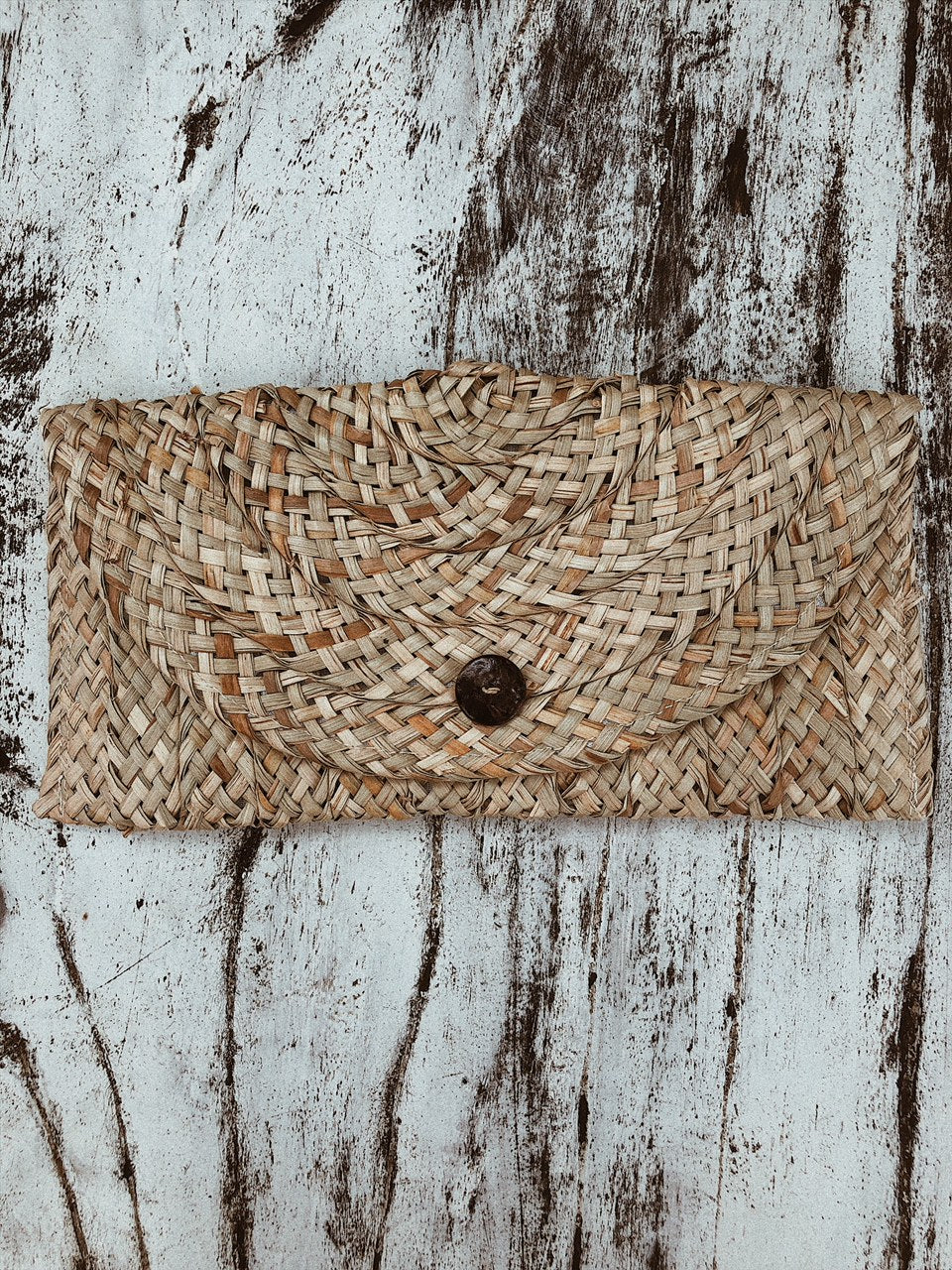 Pochette in paglia naturale - Wanderlust Factory ● Mobile Fashion Boutique