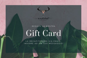 ⋅⦆ Wanderlust Factory - GIFT CARD ⦅ ⋅ - Wanderlust Factory ● Mobile Fashion Boutique