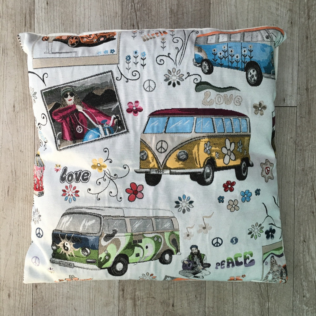 Federa cuscino Hippie 45x45 - Wanderlust Factory® ☽ Mobile Fashion Boutique