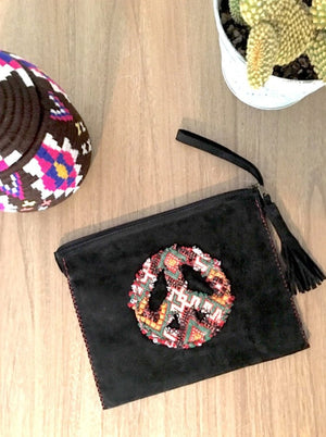 Pochette Peace Kilim - Wanderlust Factory ● Mobile Fashion Boutique