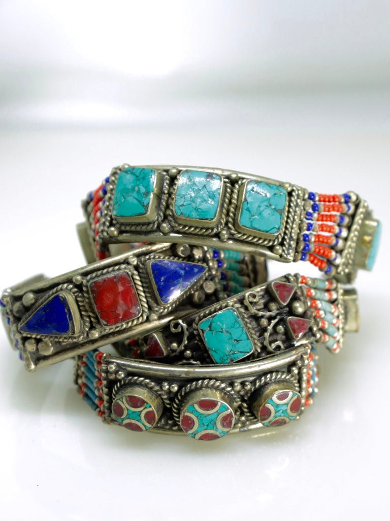 Bracciali vintage Nepal - Wanderlust Factory® ☽ Mobile Fashion Boutique
