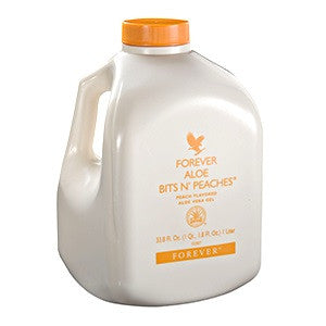Forever Aloe Bits n'Peaches, Forever Living - CLAIRESSUPPLEMENTS