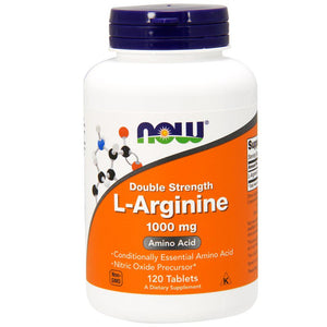 Now Foods, L-Arginine, 1,000 mg, 120 Tablets, , Now Foods, CLAIRESSUPPLEMENTS