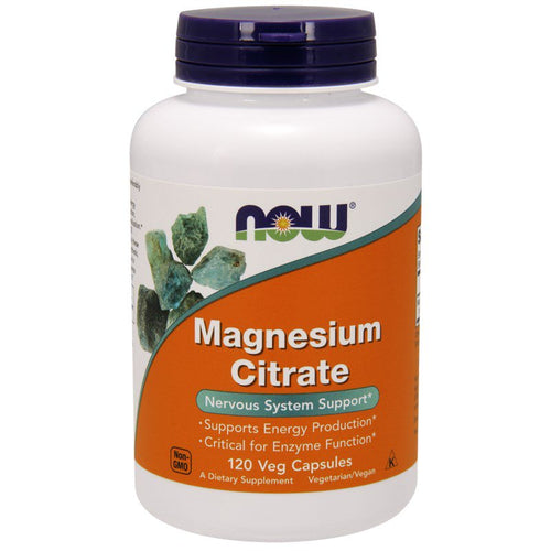 NOW Foods Magnesium Citraat 200mg (250 tablets), , Now Foods, CLAIRESSUPPLEMENTS