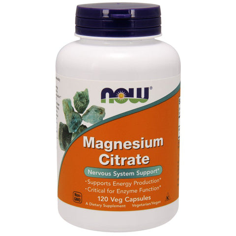 NOW Foods Magnesium Citraat 200mg (250 tablets)