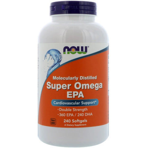 NOW Foods- SUPER OMEGA EPA (240 Softgels), Now Foods - CLAIRESSUPPLEMENTS