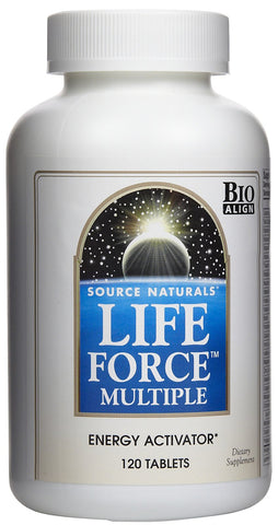 Source Naturals, Life Force Multiple, 180 Capsules - CLAIRESSUPPLEMENTS
