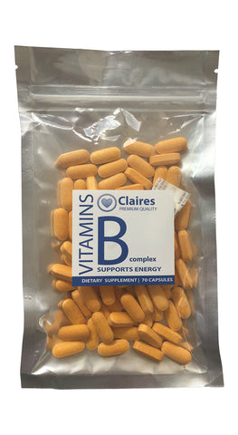 Vitamine B-complex (VITAMINESPERPOST), , CLAIRESSUPPLEMENTS, CLAIRESSUPPLEMENTS