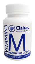 Load image into Gallery viewer,  Magnesium Citrate, Vitamins, CLAIRESSUPPLEMENTS, CLAIRESSUPPLEMENTS