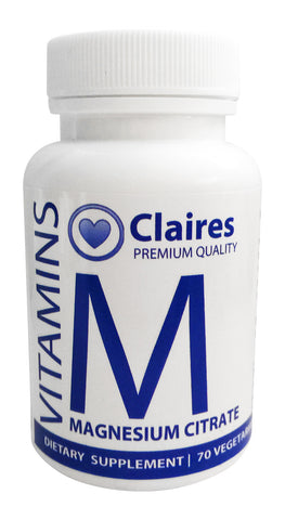 Magnesium Citrate, CLAIRESSUPPLEMENTS - CLAIRESSUPPLEMENTS