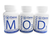 Load image into Gallery viewer,  ClairesVITAMINS GOLD Combi Pack, Vitamins, CLAIRESSUPPLEMENTS, CLAIRESSUPPLEMENTS