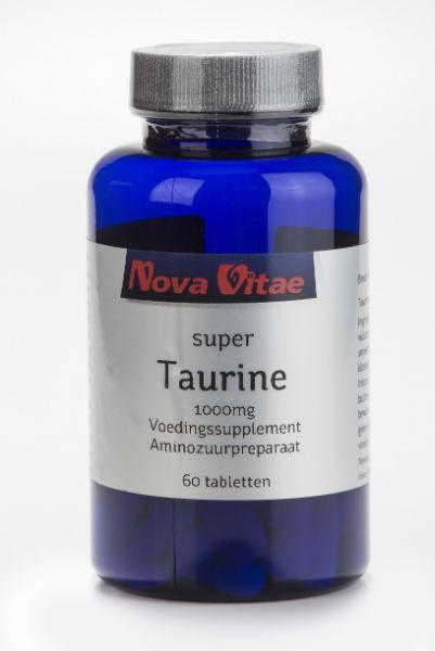 Taurine 1000 mg, Supplements, Nova Vitae, CLAIRESSUPPLEMENTS