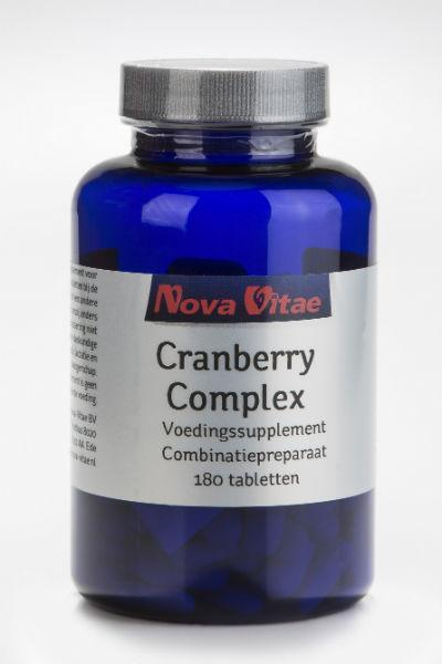 Cranberry D-mannose complex, Supplements, Nova Vitae, CLAIRESSUPPLEMENTS