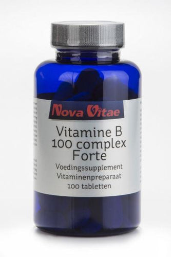 Vit B100 complex, Supplements, Nova Vitae, CLAIRESSUPPLEMENTS