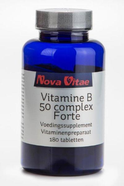 Vitamine B50 complex, Supplements, Nova Vitae, CLAIRESSUPPLEMENTS