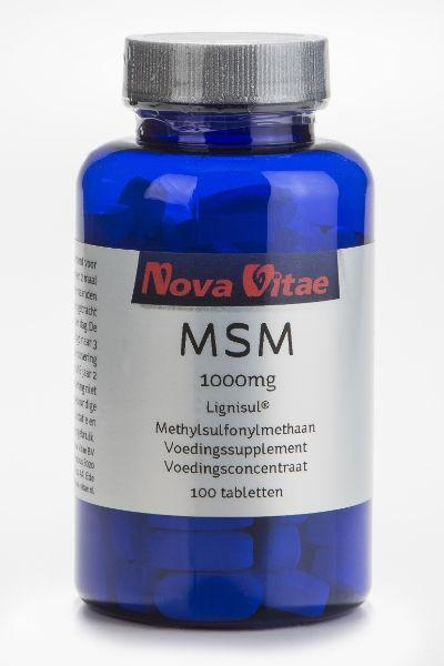 MSM 1000 mg, Supplements, Nova Vitae, CLAIRESSUPPLEMENTS