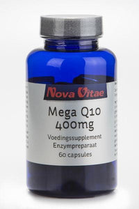 Mega Q10 400 mg, Supplements, Nova Vitae, CLAIRESSUPPLEMENTS