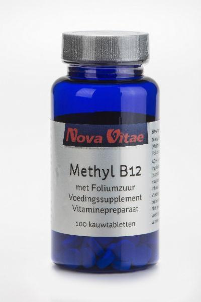 Methyl B12 foliumzuur, Supplements, Nova Vitae, CLAIRESSUPPLEMENTS