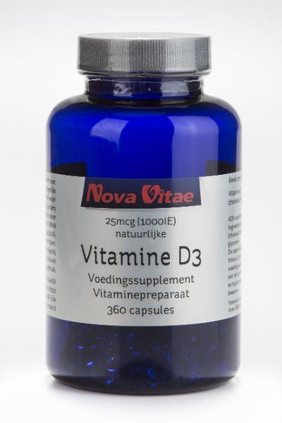 Vitamine D3 1000IU, Supplements, Nova Vitae, CLAIRESSUPPLEMENTS