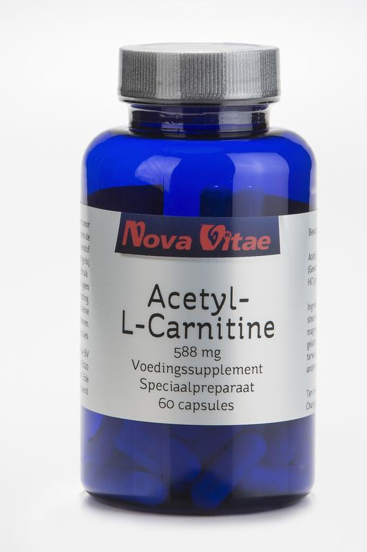 Acetyl l carnitine 588 mg, Supplements, Nova Vitae, CLAIRESSUPPLEMENTS