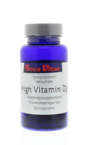 High vitamine D3 3000IU 75 mcg, Supplements, Nova Vitae, CLAIRESSUPPLEMENTS