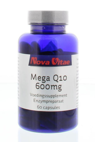 Mega Q10 600 mg, Supplements, Nova Vitae, CLAIRESSUPPLEMENTS