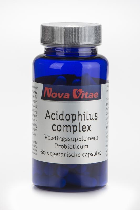 Acidophilus complex, Supplements, Nova Vitae, CLAIRESSUPPLEMENTS