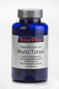Multi totaal koper & ijzer vrij, Supplements, Nova Vitae, CLAIRESSUPPLEMENTS