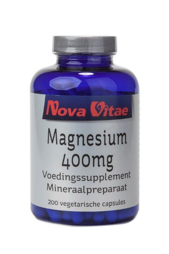 Magnesium 400 mg, Supplements, Nova Vitae, CLAIRESSUPPLEMENTS