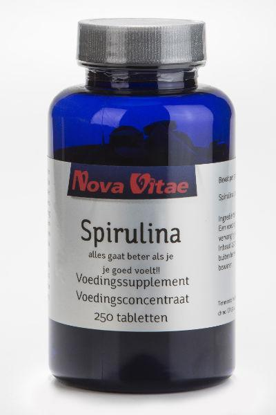 Spirulina, Supplements, Nova Vitae, CLAIRESSUPPLEMENTS