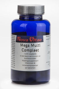 Mega multi compleet, Supplements, Nova Vitae, CLAIRESSUPPLEMENTS