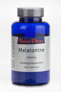Melatonine 100 mcg, Supplements, Nova Vitae, CLAIRESSUPPLEMENTS