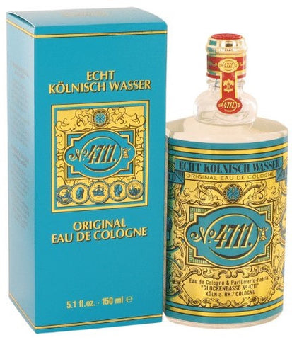 No. 4711 Original by Echt Kolnisch Wasser For Men Eau de Cologne 5.1 oz