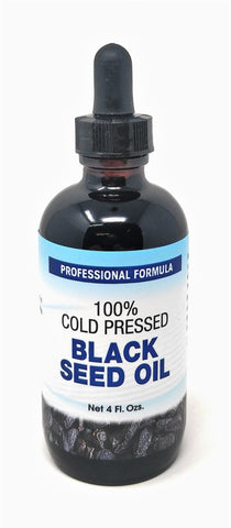 Biotin 100% Cold Pressed Black Seed Oil 4 oz