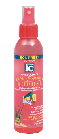 Fantasia IC Hair Polisher Heat Protector Straightening Spray 6 oz