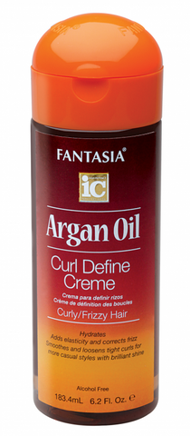 Fantasia IC Argan Oil Curl Define Creme 6.2 oz.