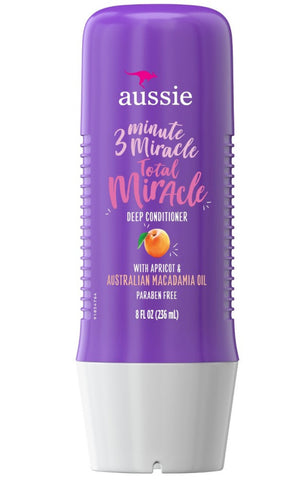 Aussie 3 Minute Miracle Total Miracle Deep Conditioner 8 oz