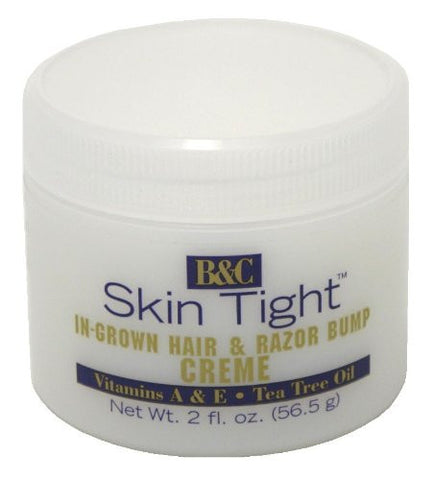 B&C Skin Tight In Grown Hair & Razor Bump Creme 2 Fl. Oz.