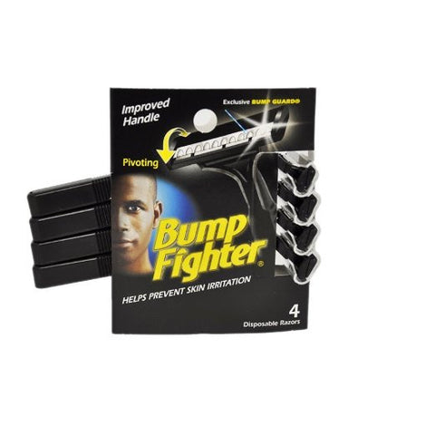Bump Fighter Disposable Razors 4 ea.