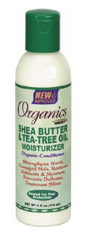 Organics by Africa's Best Shea Butter & Tea Tree Oil Moisturizer 6 oz.