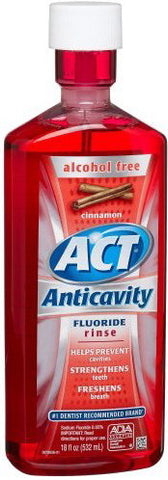 Act Anticavity Fluoride Rinse Cinnamon 18 oz.