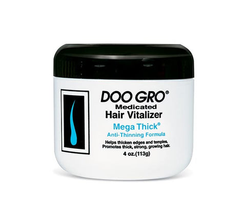 Doo Gro Medicated Hair Vitalizer Mega Thick Anti-Thinning Formula 4 Oz.