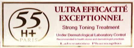 55H+ Efficacite Exceptionnelle Strong Toning Treatment 1.7 oz