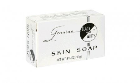 Black and White Skin Soap 3.25 oz