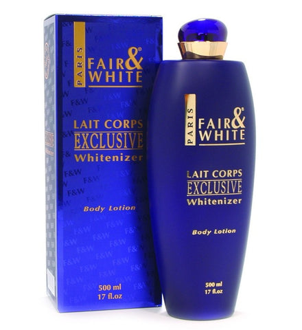 Fair & White Exclusive Whitenizer Body Lotion 17 oz.