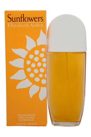 Sunflowers by Elizabeth Arden For Women Eau de Toilette Spray 3.3 oz.