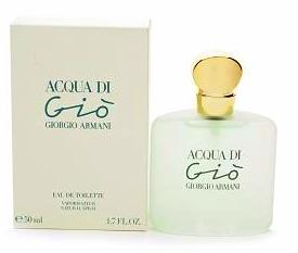 Acqua di Gio by Giorgio Armani For Women Eau de Toilette Spray 1.7 oz