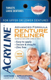 Acryline Advanced Formula Denture Reliner, 2 Applications