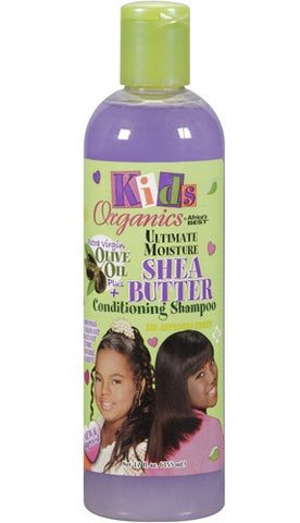 Kids Organics by Africa's Best Ultimate Moisture Shea Butter Conditioning Shampoo 12 oz.