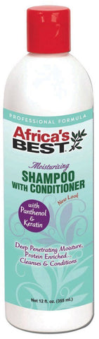 Africa's Best Moisturizing Shampoo with Conditioner 12 oz.